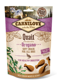 CARNILOVE | Soft Snack Kwartel met Oregano | 200 gram