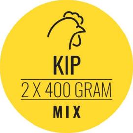CARNIVOER | Kip-Mix HOND | 2 x 400 gram