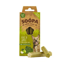 SOOPA | Dental sticks | Boerenkool & Appel | per 4 stuks in doosje
