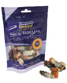 Fish 4 Dogs    Sea Wraps Zoete Aardappel   100 gram