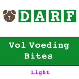 DARF BITES | Vol Voeding - LIGHT  - geperste brok | 2 KG