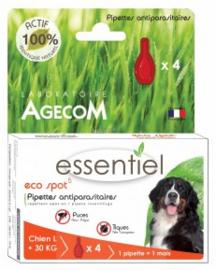 Eco Spot | Hond 30+  KG | 4 x pipet (= 2 pipetten per maand)