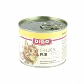 DIBO   Gevogelte Puur met kattenkruid en zalmolie   200 gram