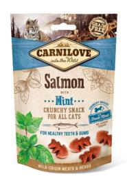 CARNILOVE | Crunchy Snack Zalm met munt | 50 gram