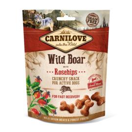 CARNILOVE | Crunchy Snack Wild Zwijn met rozebottels | 200 gram