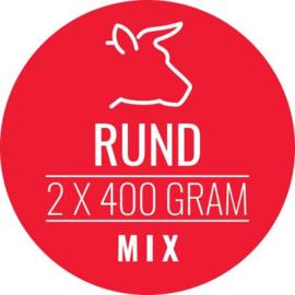 CARNIVOER | Rund-Mix HOND | 2 x 400 gram