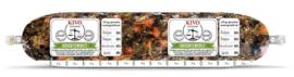 KIVO | Groenteworst (Andijvie, pompoen, haricots verts, wortel) | 250 gram