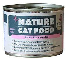 Nature Catfood   Zalm, Kip en Kruiden   200 gram