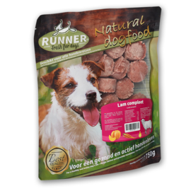 RUNNER | Lam (100%) Compleet | 750 gram (25 gram deelblokjes!)