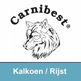 CARNIBEST | Kalkoen (100%) & Rijst | 500 gram