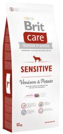 BRIT CARE | SENSITIVE (Hert/Aardappel) Hypoallergeen | 1 kg