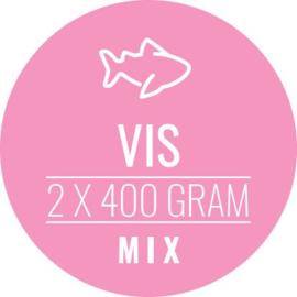CARNIVOER | Vis-Mix HOND + KAT | 2 x 400 gram