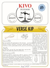 KIVO   Verse Kip - tarwevrij - koudgeperst   15 KG