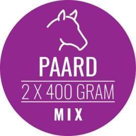 CARNIVOER | Paard-Mix HOND | 2 x 400 gram