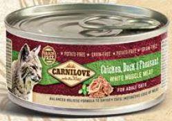 Carnilove   Kip, Eend & Fazant   100 gram