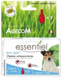 Eco Spot | Hond 2-15 KG | 2 x pipet