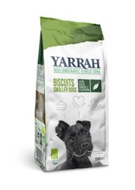 YARRAH | Snack Dog Biscuit met zeewier en spirulina (vega) | 250 gram
