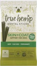 TRUE HEMP | Skin & Coat (met kip) - graanvrij | 7 sticks = 100 gram