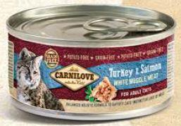 Carnilove   Kalkoen & Zalm   100 gram