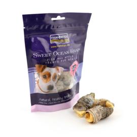 Fish 4 Dogs    Sweet Ocean Wraps   100 gram