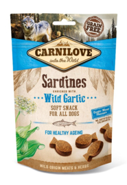 CARNILOVE | Soft Snack Sardines met knoflook | 200 gram