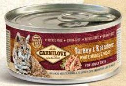 Carnilove   Kalkoen & Rendier   100 gram