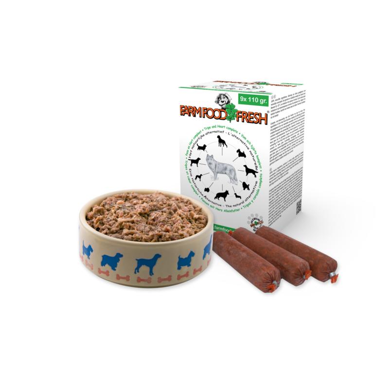FARM FOOD FRESH   Pens/Hart COMPLEET   9 x 110 gram