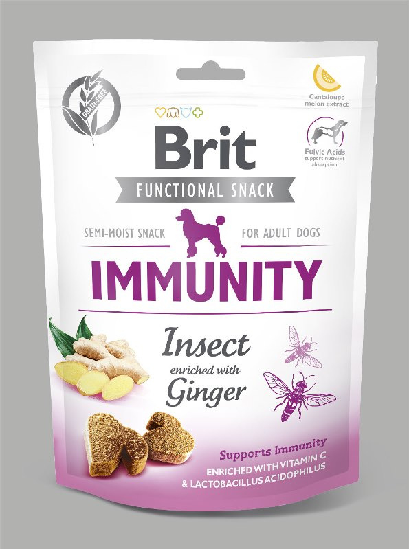 Brit Care | Graanvrije functional snack: Immunity (insect) | 150 gram