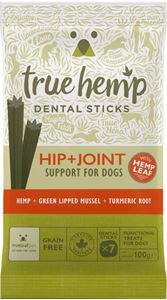 TRUE HEMP | Hip & Joint (met kip) - graanvrij | 7 sticks = 100 gram