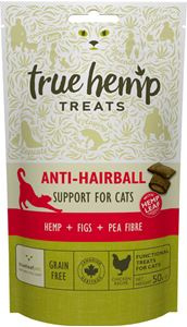 TRUE HEMP | Anti - Hairball - graanvrij | 50 gram