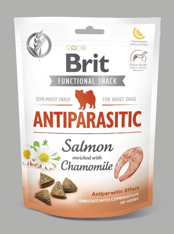 Brit Care | Graanvrije functional snack: Anti-Parasitic (zalm) | 150 gram