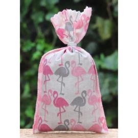 Lavendelzakje met Flamingo