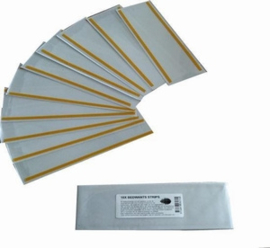 Ecosect lijmvel-val zilvervisjes 10 stuks.