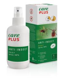 Care Plus Anti-Insect DEET 40% huid of kleding spray 200 ml