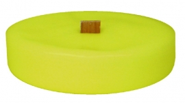 XL Glas kleurloos inclusief kaars vulling