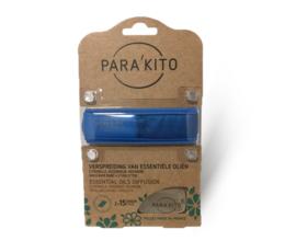 Parakito Armband Blauw Navulbare band & 2 tabletten