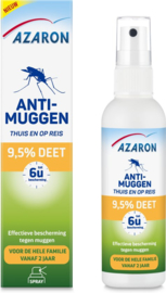 Azaron Anti Muggenspray 9,5% DEET 100 ml.
