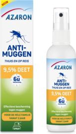 Azaron Anti Muggenspray 9,5% DEET 100 ml.