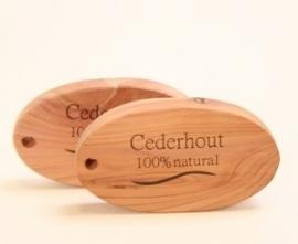 Herbapharm cederhouten ovaalblokje