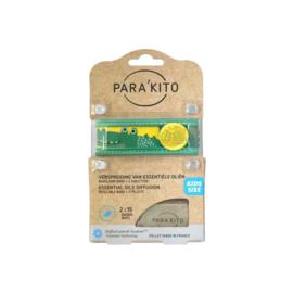 Parakito Kids Armband Krokodil Navulbare band & 2 tabletten