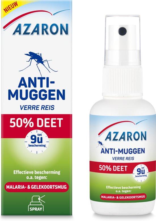 Azaron Anti Muggenspray 50% DEET 50 ml.