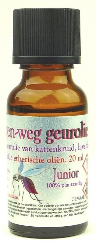 Muggen-weg geurolie Junior 20 ml