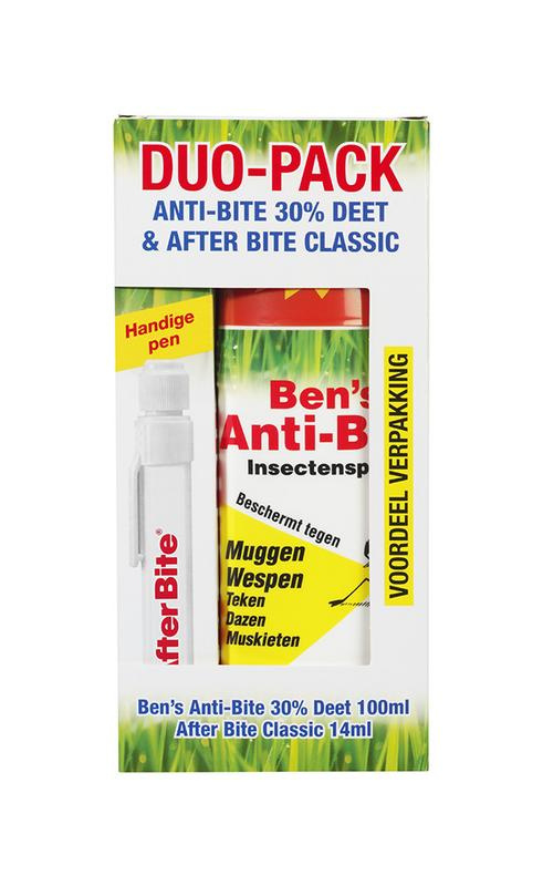 After Bite - Duo Pack after bite & anti-bite spray 30% deet