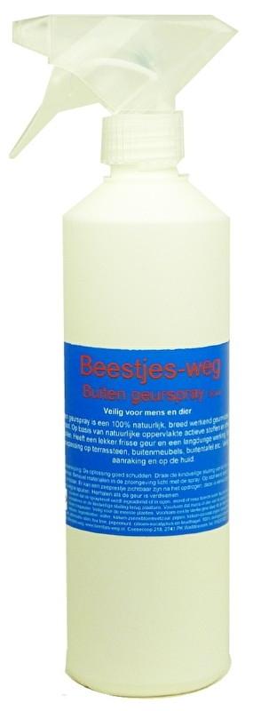 Beestjes-weg Buiten geurspray 500 ml