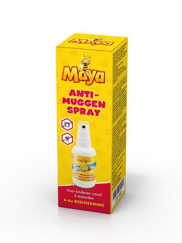 Studio 100 - Maya anti-muggen spray 50 ml.