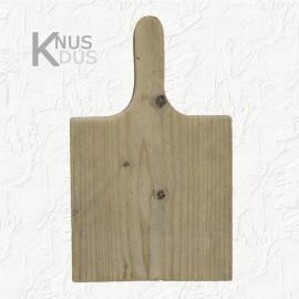 Broodplank  vierkant steigerhout met handvat