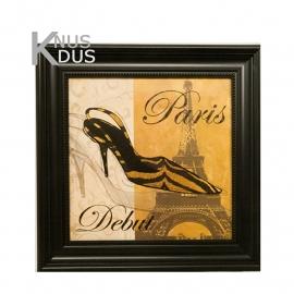 Schilderij 'Paris Debut'