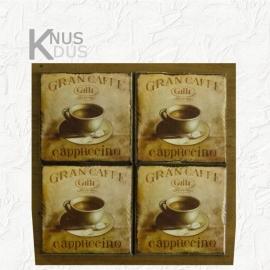Set onderzetters 'Gran caffee'