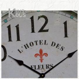 """Landelijke klok """"L' Hotel des Fleurs"""" van Kolony"""