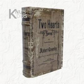 Decoratieboek Two Hearts - medium